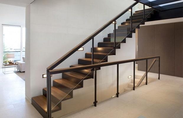 Moderne trappen fotospecial inspiratie tips for Stalen trap maken
