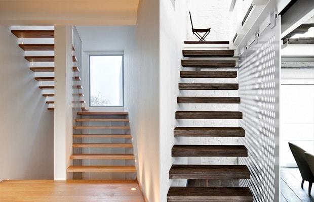 Zwevende trap voorbeelden prijs advies for Dikte traptreden hout