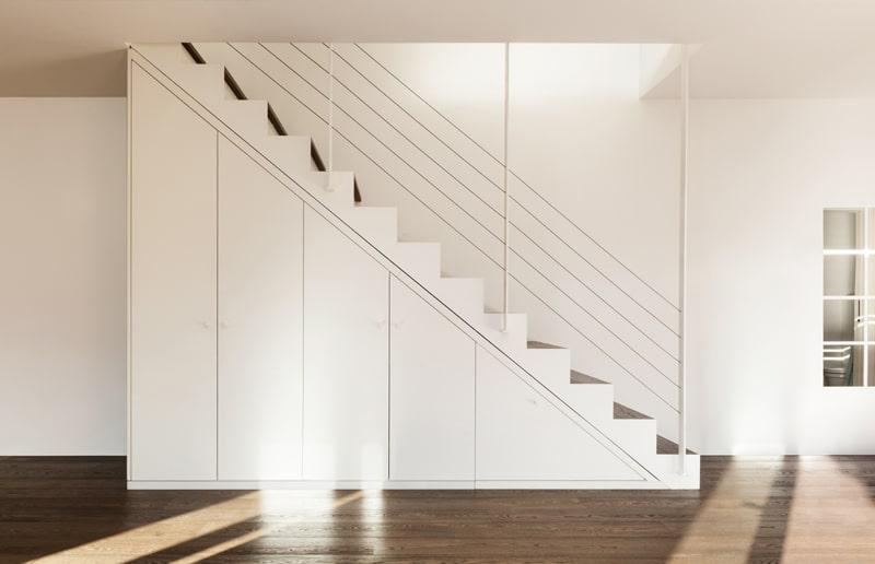Design trappen realisaties prijs advies design trap - Moderne metalen trap ...