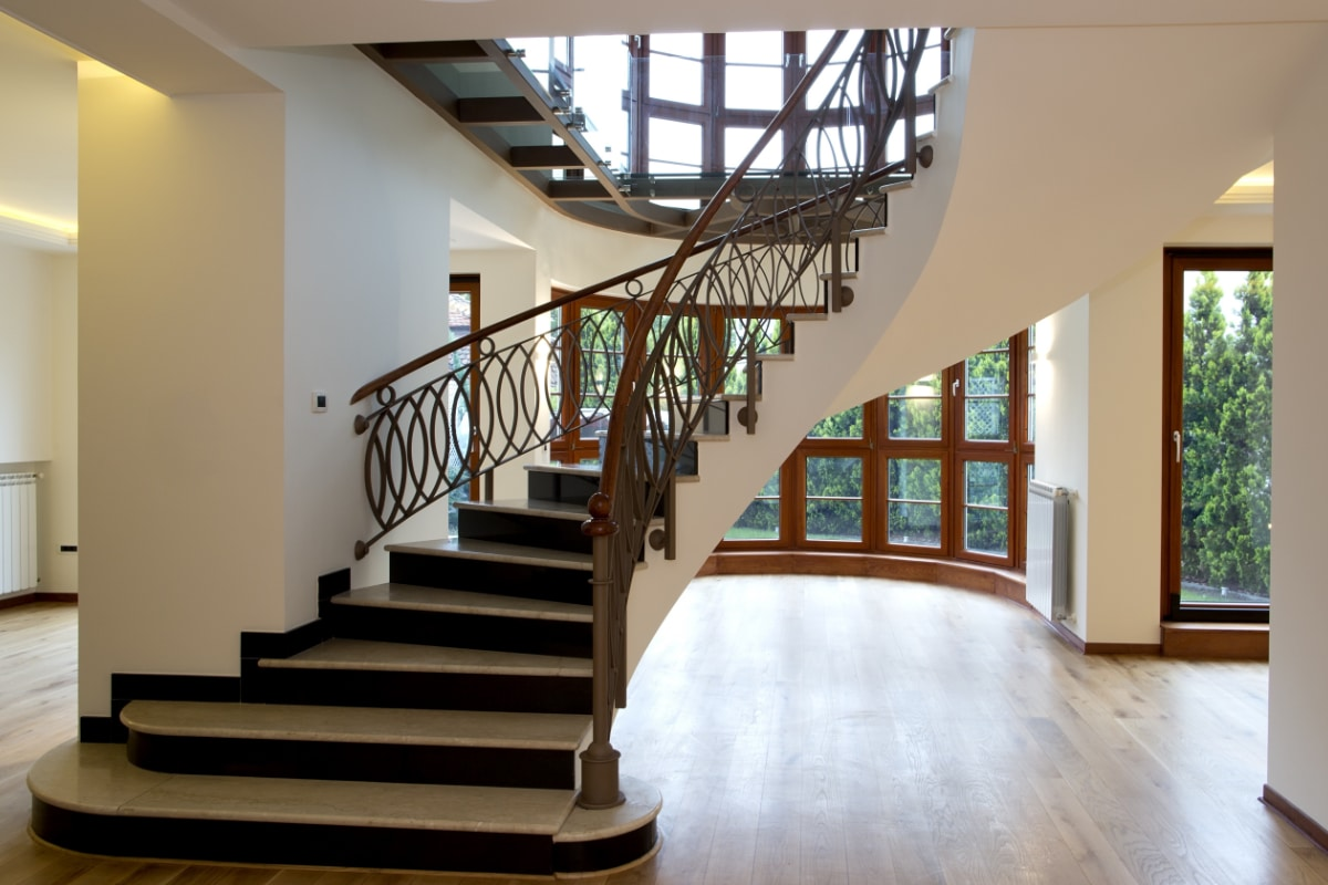 Landelijke trappen prijs realisaties for Goedkope trappen op maat