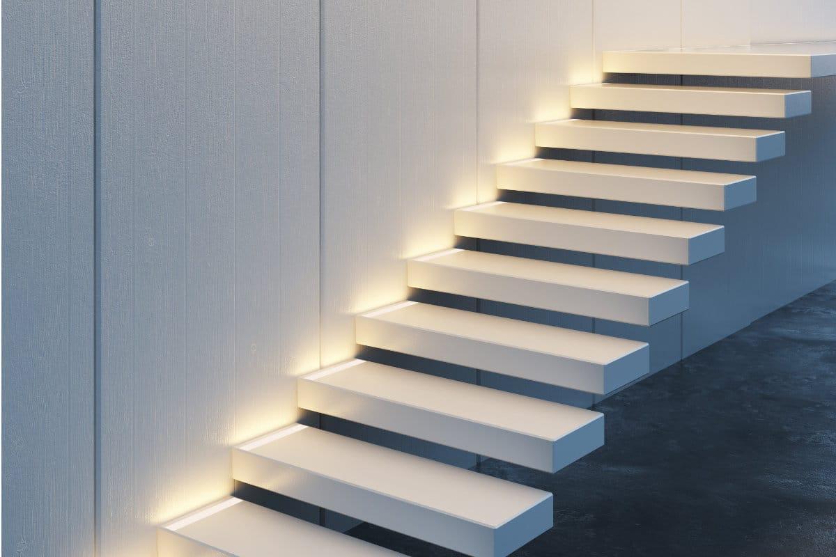 Zwevende Trap Veiligheid : Zwevende trap voorbeelden prijs advies